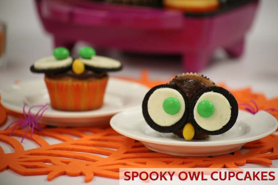 Halloween Cupcake Idea: Make Spooky Owl Cupcakes