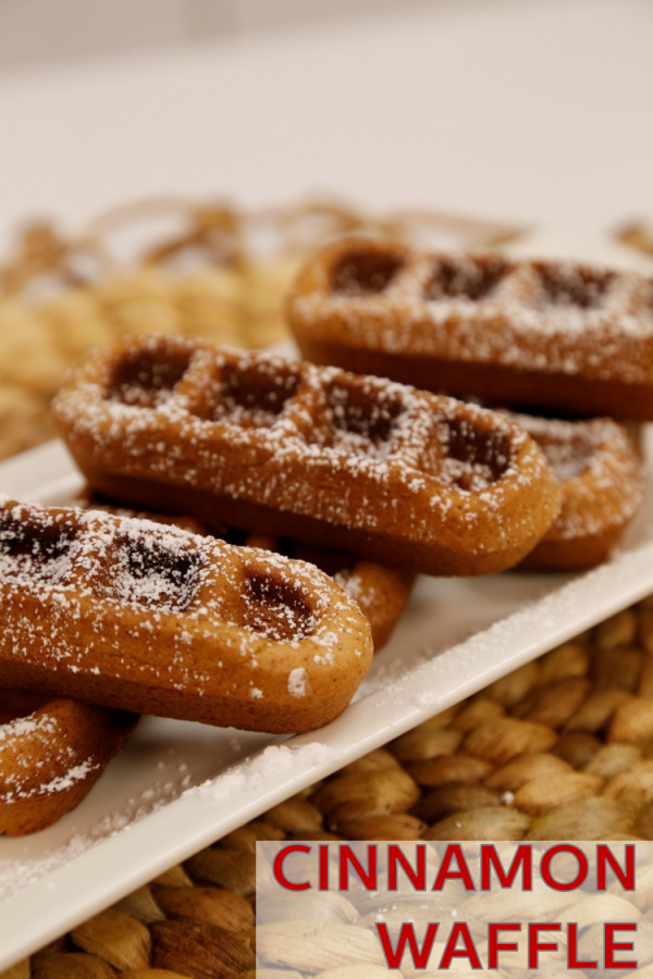 Easy Fall Breakfast Recipe – Cinnamon Waffle Sticks