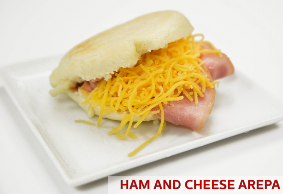 Traditional Arepas – Ham & Cheese Recipe