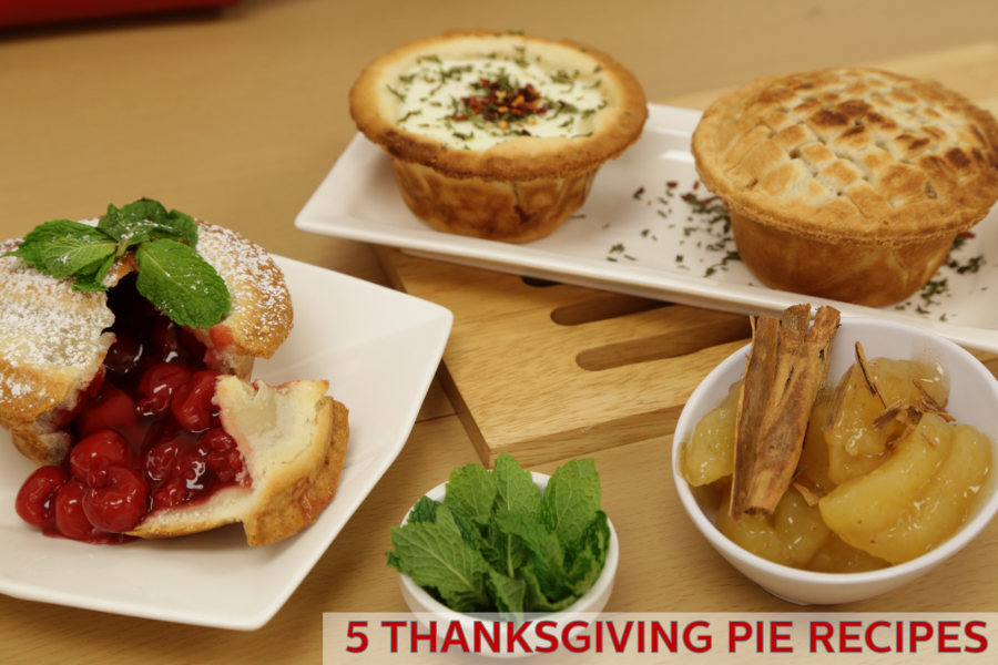 5 Thanksgiving Pie Recipes