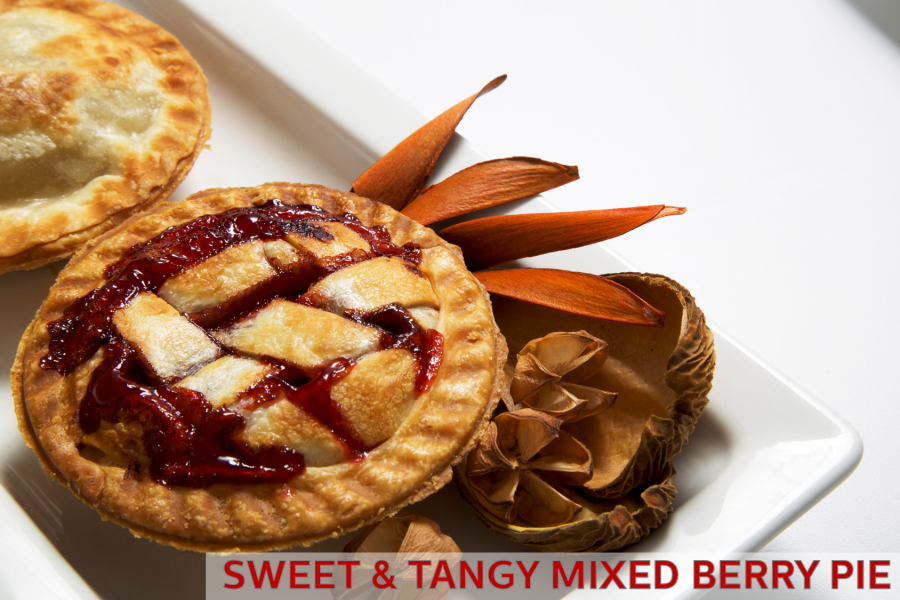 Sweet & Tangy Mixed Berry Pie Recipe