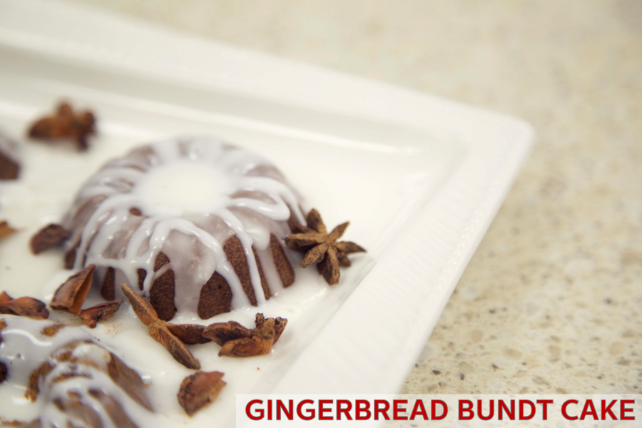 Gingerbread Mini Bundt Cake Recipe