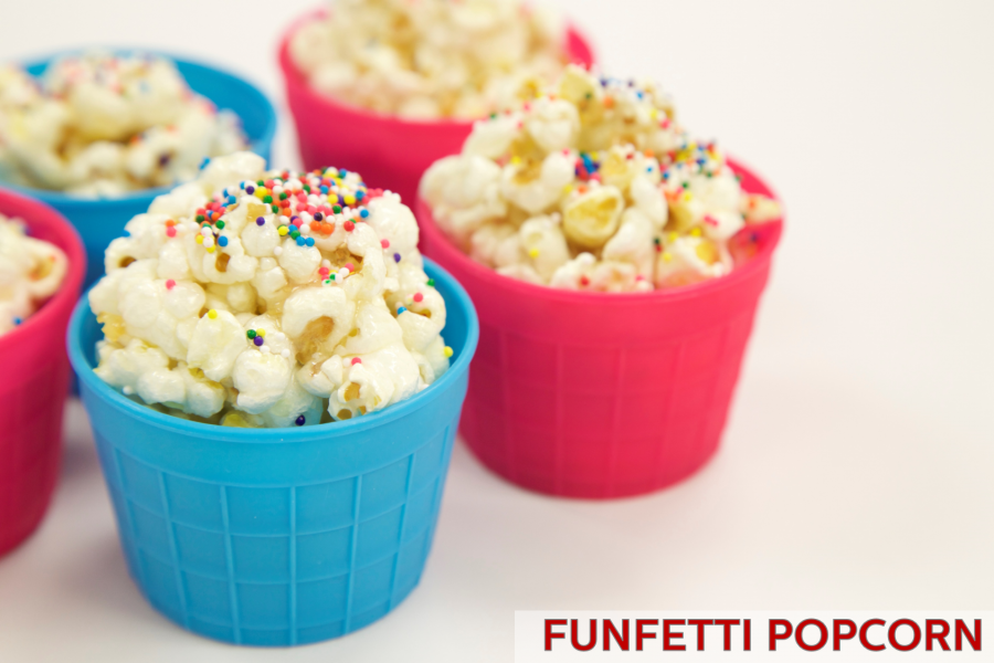 Funfetti Popcorn Ball Recipe