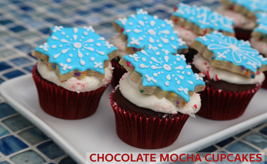 Chocolate Mocha Cupcakes with Peppermint Buttercream Recipe – Holstein + So Sweet Memories