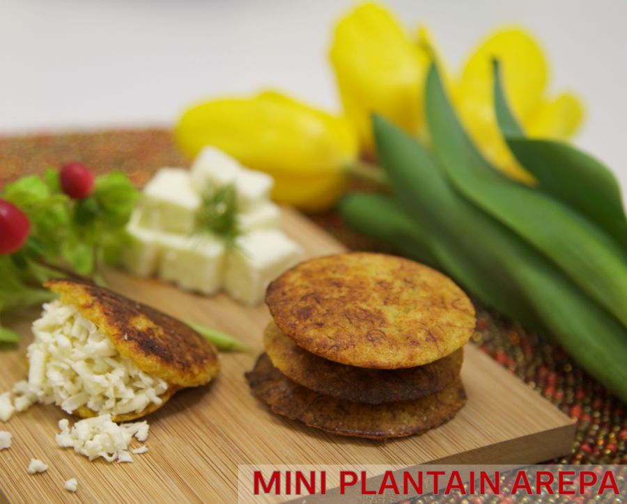 Mini Plantain Arepa Recipe – Holstein + JMou Sweets